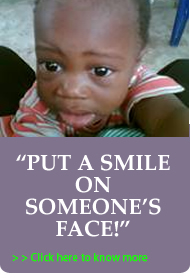 Donate $100 to put a smile on someone's face today!