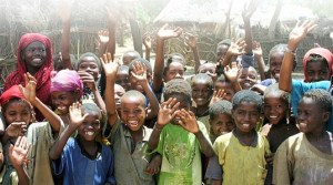 These are the children of the world... they need peace and security in their communities!
